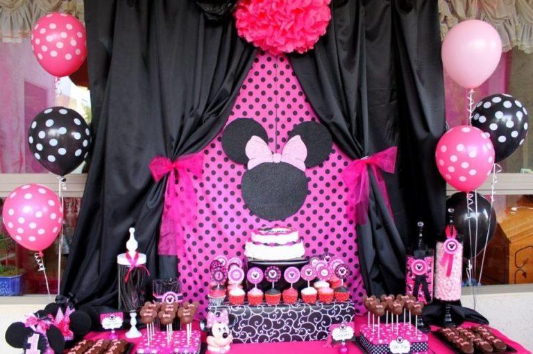 mickey minnie mouse birthday decorations - minnie mouse birthday - My Blog